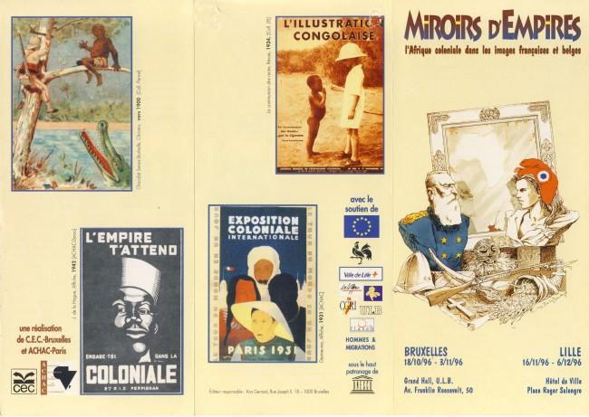 Affiche Miroirs d'empires BXL Lille